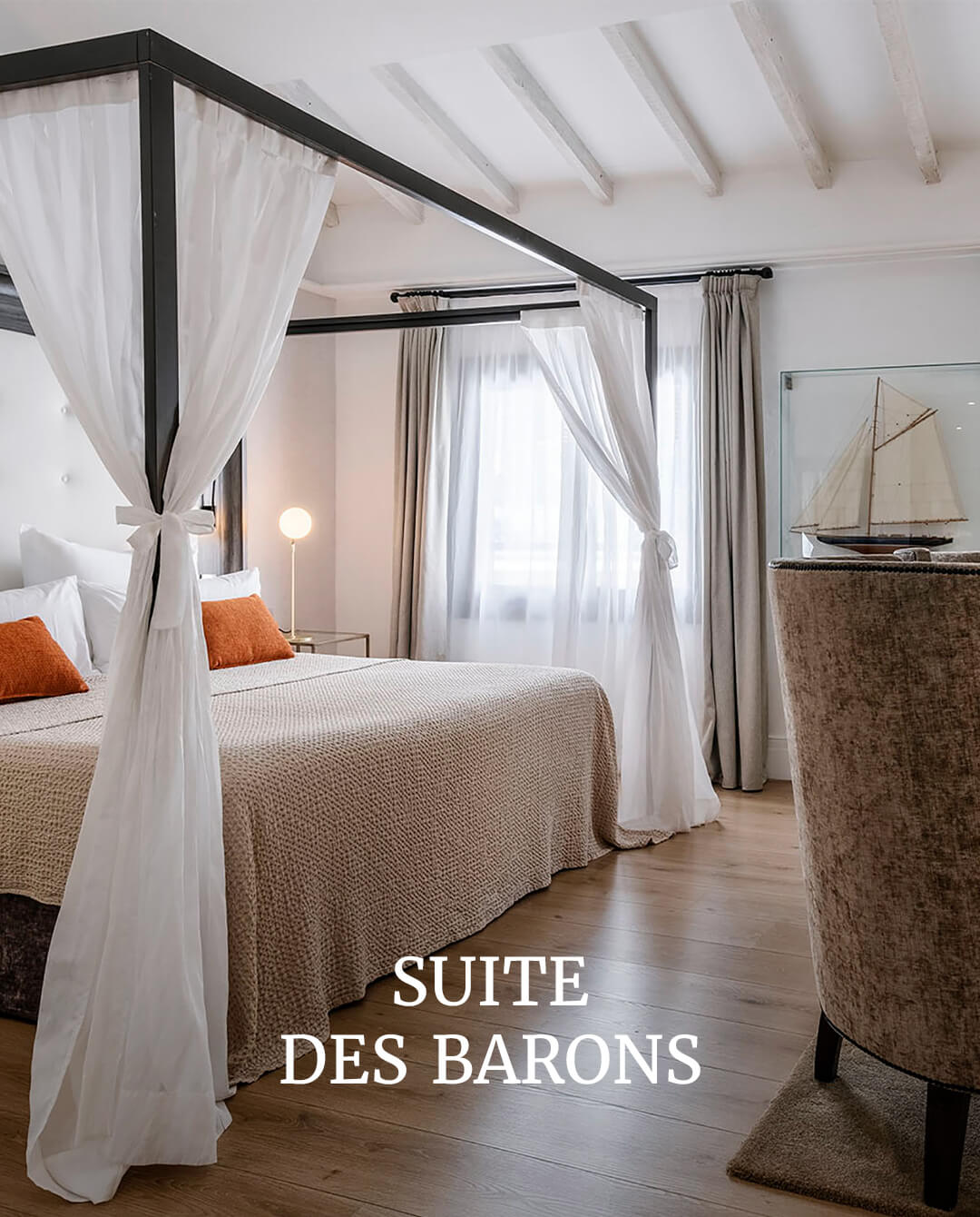 Posada Terra Santa Suite des Barons