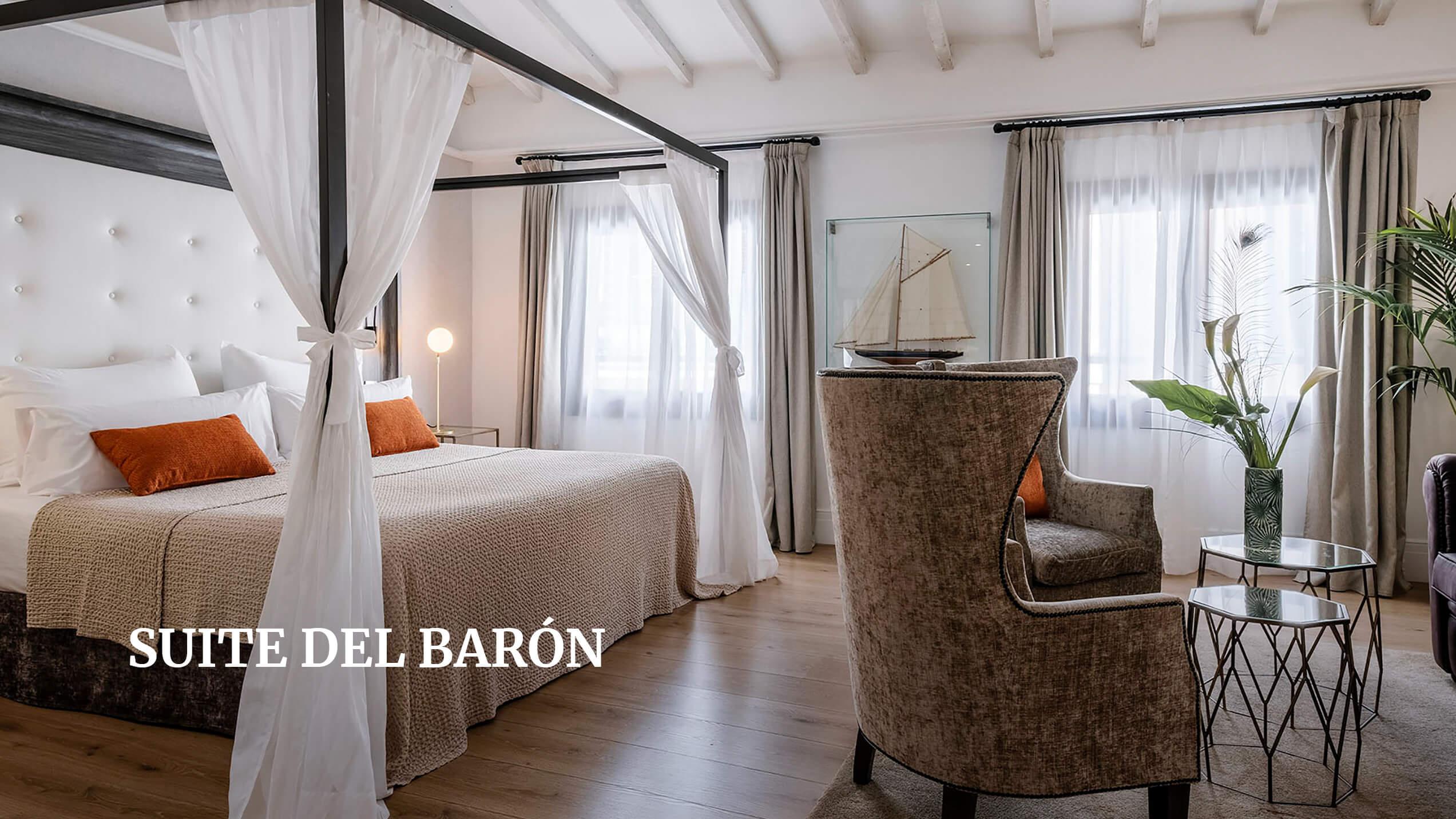 Posada Terra Santa Suite del Barón
