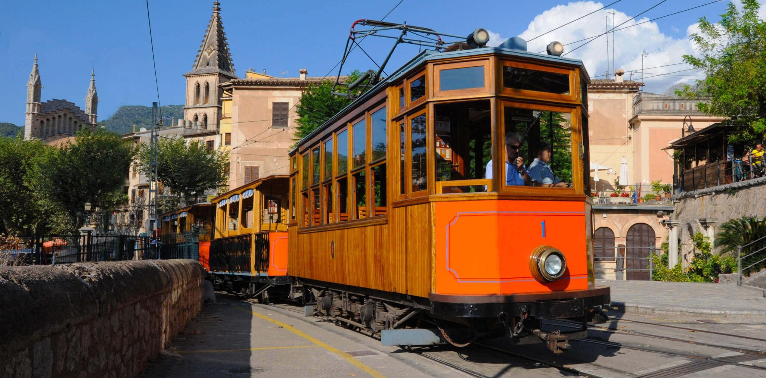 Tren de Sóller, Sóller, Pueblos de Mallorca